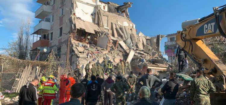 Серија земљотреса погодила Албанију.Тресло се и код нас