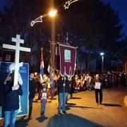 Билећани уз своју православну браћу из Црне Горе