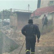 Мигранти у Билећи запалили кућу