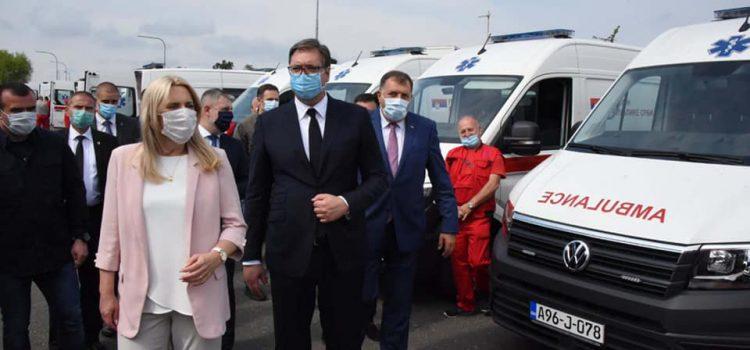 Билећа добила санитетско возило од Србије
