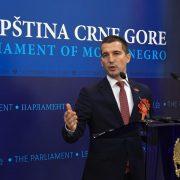 Нови предсједник Скупштине Црне Горе је Алекса Бечић