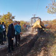 Пашалић обишао радове на изградњи водовода у Трновици и Врбици