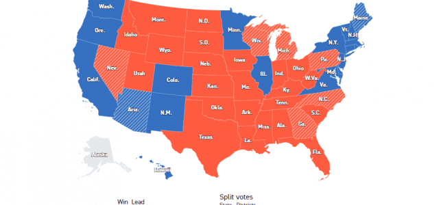 Избори у САД: Трамп води у кључним државама у борби за електоре