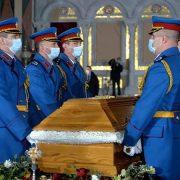 Сахрањен патријарх српски Иринеј