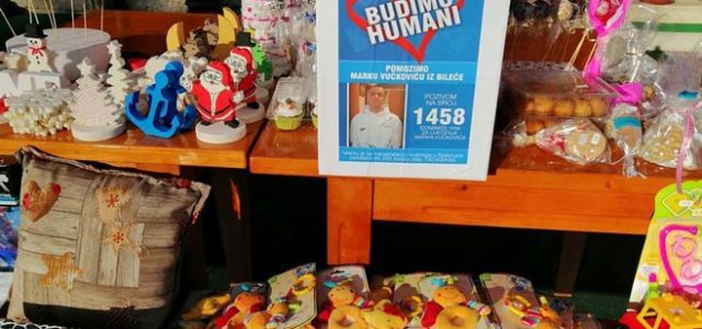 На хуманитарном базару за Марка Вучковића прикупљено 6.633 КМ
