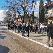 Протести у Билећи. Тражи се правда