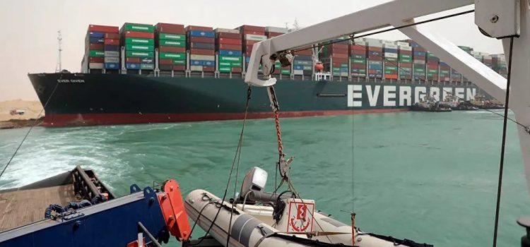 Ослобођен брод који је блокирао Суецки канал