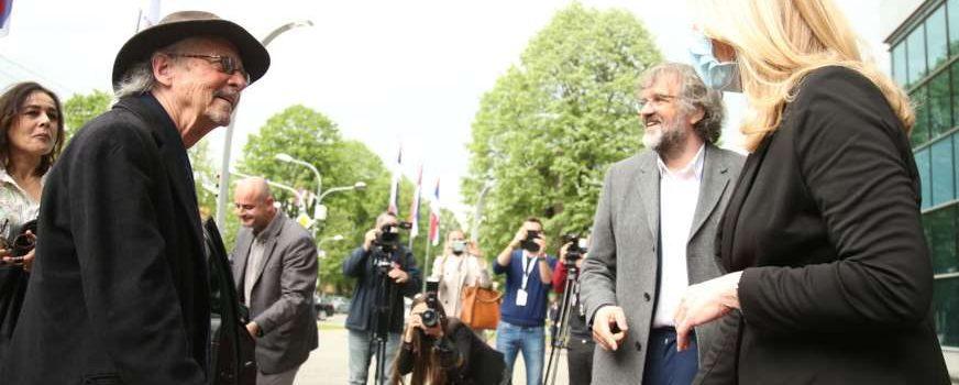 Нобеловац Петер Хандке стигао у Бањалуку