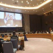 Вучић оштар у обраћању СБ УН